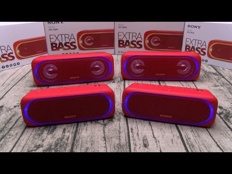 SONY XB30 vs SONY XB40 - Best Bluetooth Speakers
