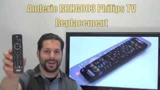 PHILIPS URMT42JHG003 TV Anderic Replacement Remote - www.ReplacementRemotes.com