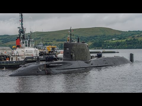 Royal Navy Welcomes Third Astute Class Submarine to Clyde