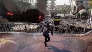 inFamous Second Son 1080p PS4 gameplay