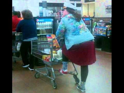 Funny and Strange People Shopping in WalMart, The Walmart ...