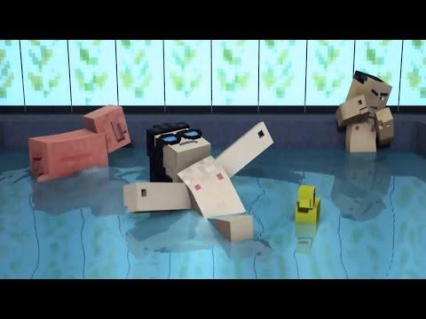 Top 5 CaptainSparklez Minecraft Songs - Best Minecraft Animations By CaptainSparklez