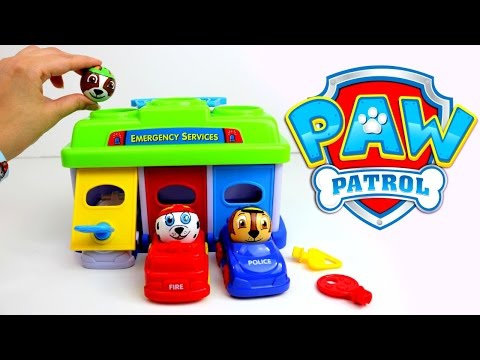 Paw Patrol Best Baby Toy Learning Colors Shapes Video Preschool Children, Toy Cars Garage Toddlers
