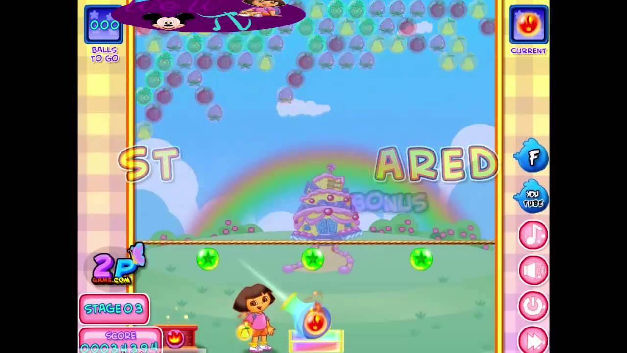 Dora The Explorer Games To Play Free Online Dora Bubble