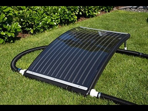 solarkollektoren vergleich 2011 schwimmbad solarheizung solarkollektor pool youtube. Black Bedroom Furniture Sets. Home Design Ideas