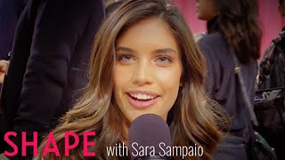 #VSFashionShow | Sara Sampaio Backstage 2015 | Shape