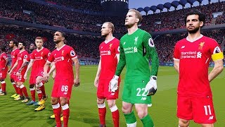 Manchester City vs Liverpool | UCL 10 April 2018 Gameplay