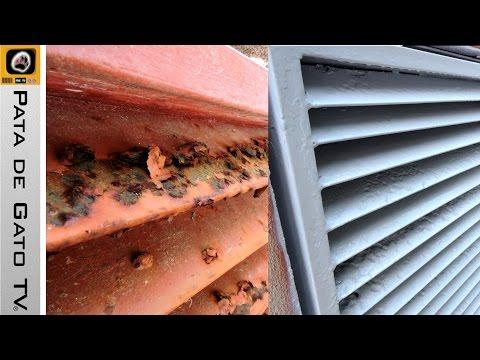 Como Pintar Hierro Oxidado How To Paint Rusted Iron Youtube