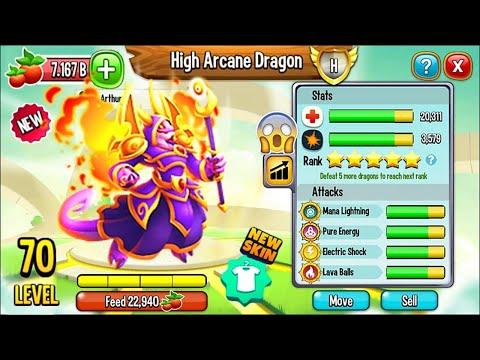 NOBLE DRAGON ARCANO LEVEL 70 - HIGH ARCANE DRAGON [NUEVO DRAGON HEROICO] - SPLONTER