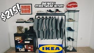$215 IKEA SNEAKER/STREETWEAR SETUP CHALLENGE!