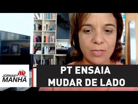 PT ensaia mudar de lado e abandonar Aécio no Senado | Vera Magalhães