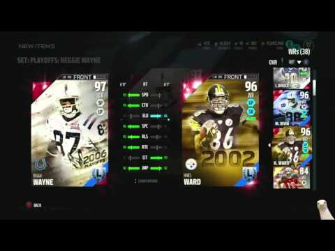 Madden 16 Ultimate Team-We Snagged 97 Playoff Legend Reggie Wayne!-XBOX ONE Madden 16 Ultimate Team