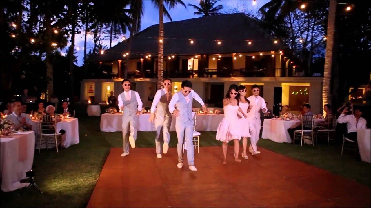 May  Eric Wedding  Bridal Party Entrance Dance  YouTube