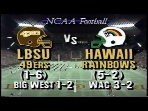 1988 Long Beach State at Hawaii