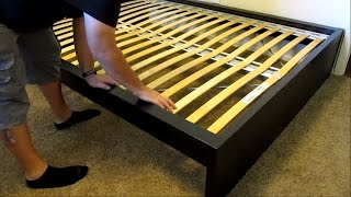 Ikea Malm High Bed Assembly   Detailed!