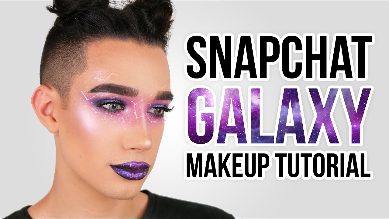 SNAPCHAT GALAXY FILTER MAKEUP TUTORIAL