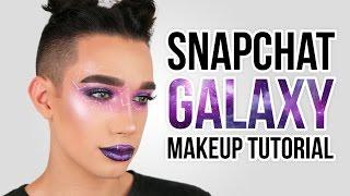 snapchat galaxy filter makeup tutorial   jcharlesbeauty