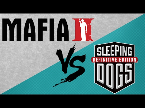 Mafia II VS Sleeping Dogs | SIDE BY SIDE COMPARISON | HD