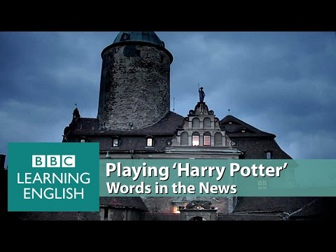 Playing 'Harry Potter'. Learn: wizardry, role play, makeshift, cast a spell, investors