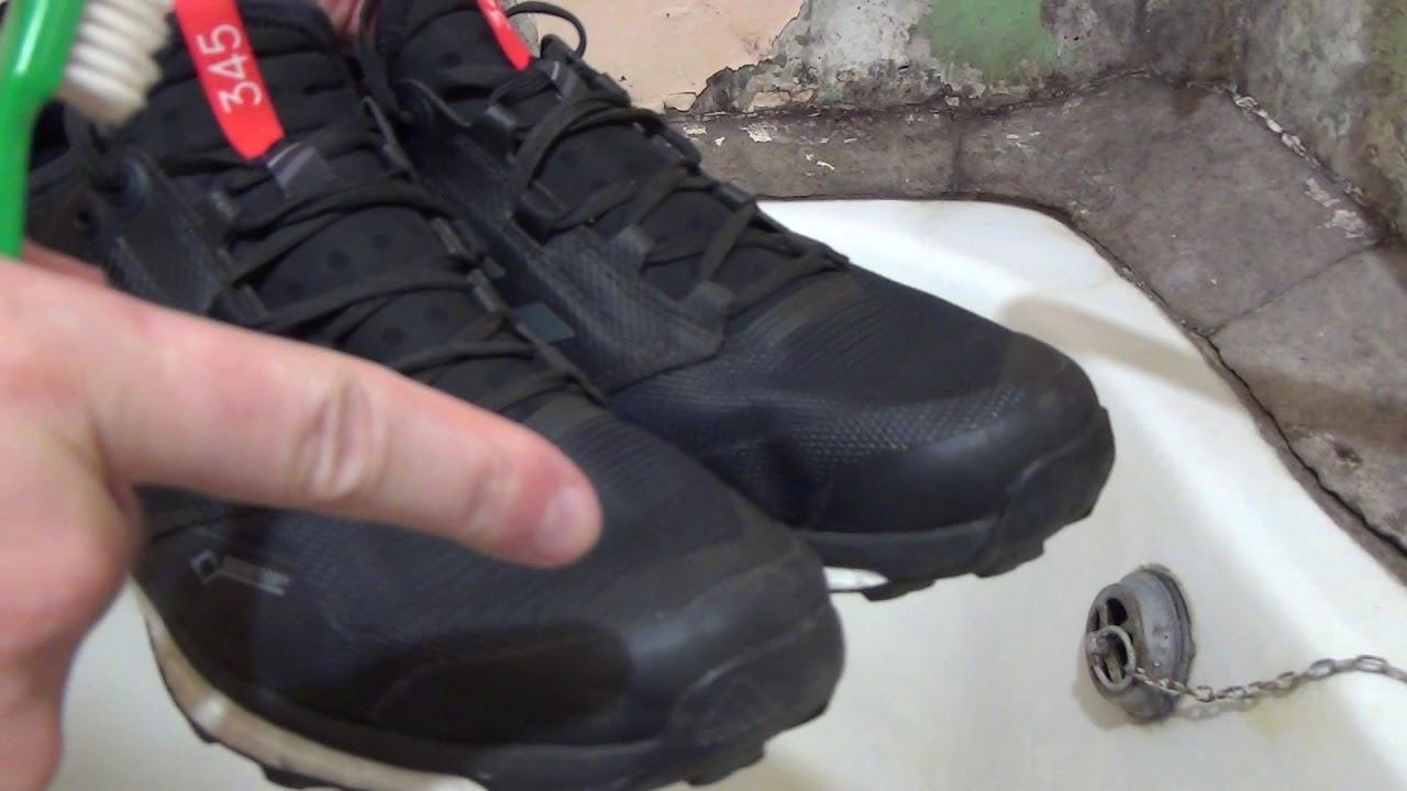 7550ba1d30c2 Чистка от пыли Adidas Terrex Agravic XT GTX кроссовки - YouTube
