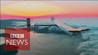 Solar-powered plane set for global flight