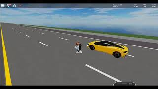 Showing MClaren's top speed (Roblox)