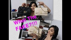 I Got scammed!! Authentic Vs. Fake Chanel 19 Flap!