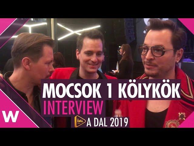 Mocsok 1 Kölykök (A Dal 2019) Interview | wiwibloggs