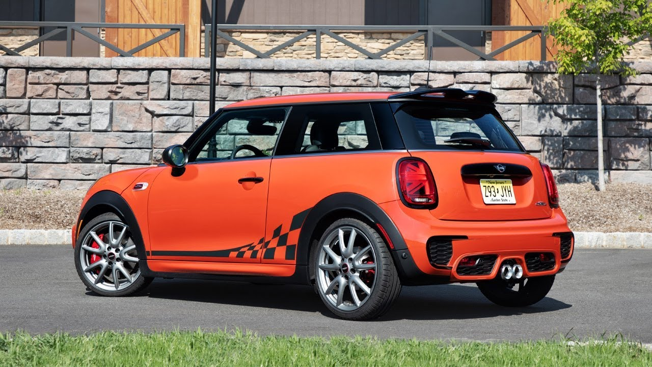 2018 Mini John Cooper Works Hardtop International Orange Edition
