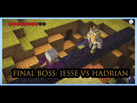 Minecraft: Story Mode Episode 8: A Journey's End? - Final Boss: Jesse Vs Hadrian