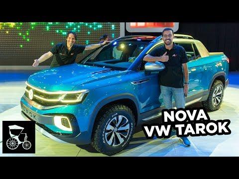 😱 Nova Picape Volkswagen TAROK (Veja tudo sobre a futura rival da Fiat Toro)