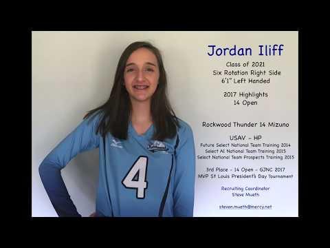 Jordan Iliff 2017 Volleyball Highlights