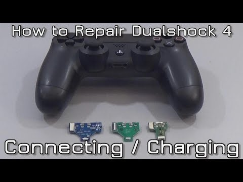 How to repair Dualshock 4 connecting/charging problems