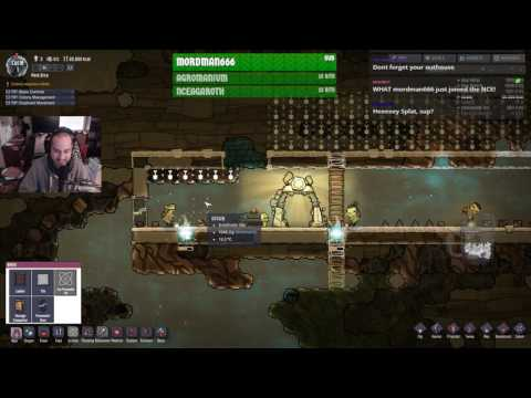 Oxygen Not Included Gameplay Stream - Twitch.tv/splattercatg