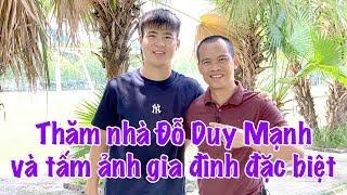 Thăm nhà Duy Mạnh phần 1 & tấm ảnh người yêu | Vlog Minh Hải