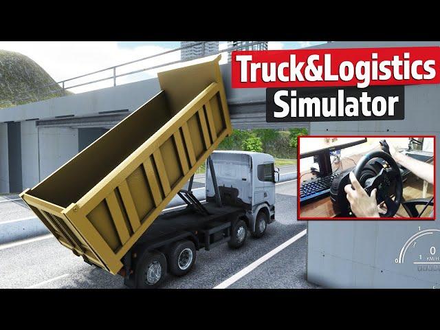 Damperi Kaldırdık! Truck & Logistics Simulator Direksiyon Seti Performansı Thrustmaster T300 RS GT