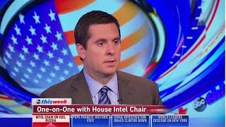 Chairman Nunes on This Week, Sep. 28, 2015