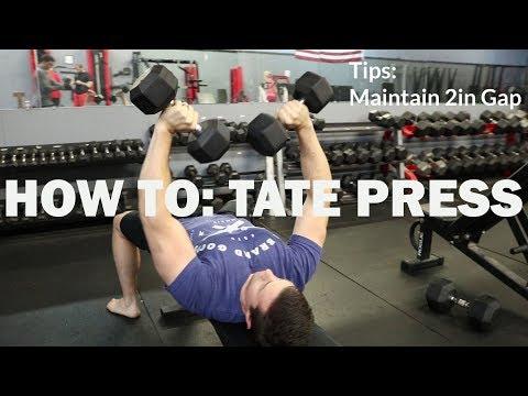 How To: TATE PRESS