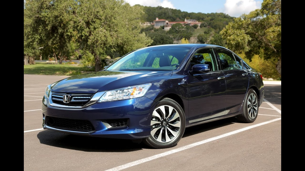 2014 Honda Accord Hybrid Review - YouTube