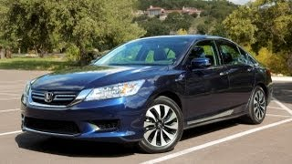 Honda Accord Hybrid 2014 Videos