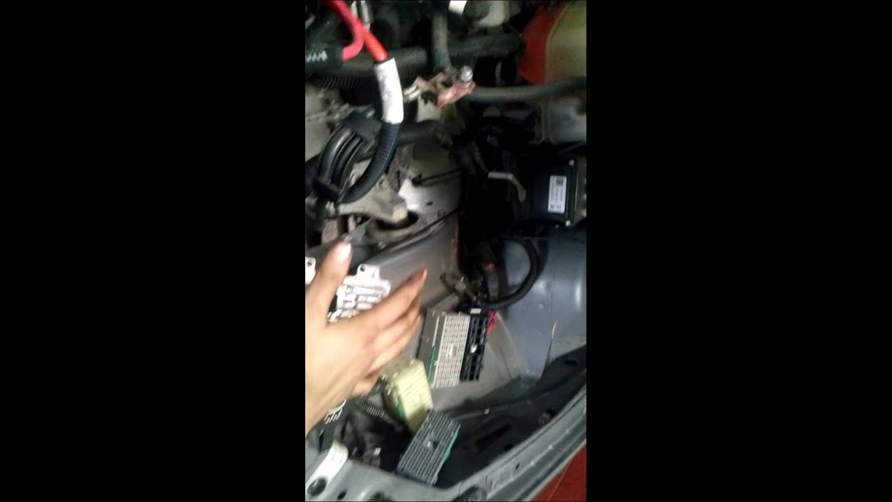 08 Pontiac G6 shift solenoid replacement on