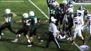 Tualatin at Tigard Football Highlights - 10/7/11