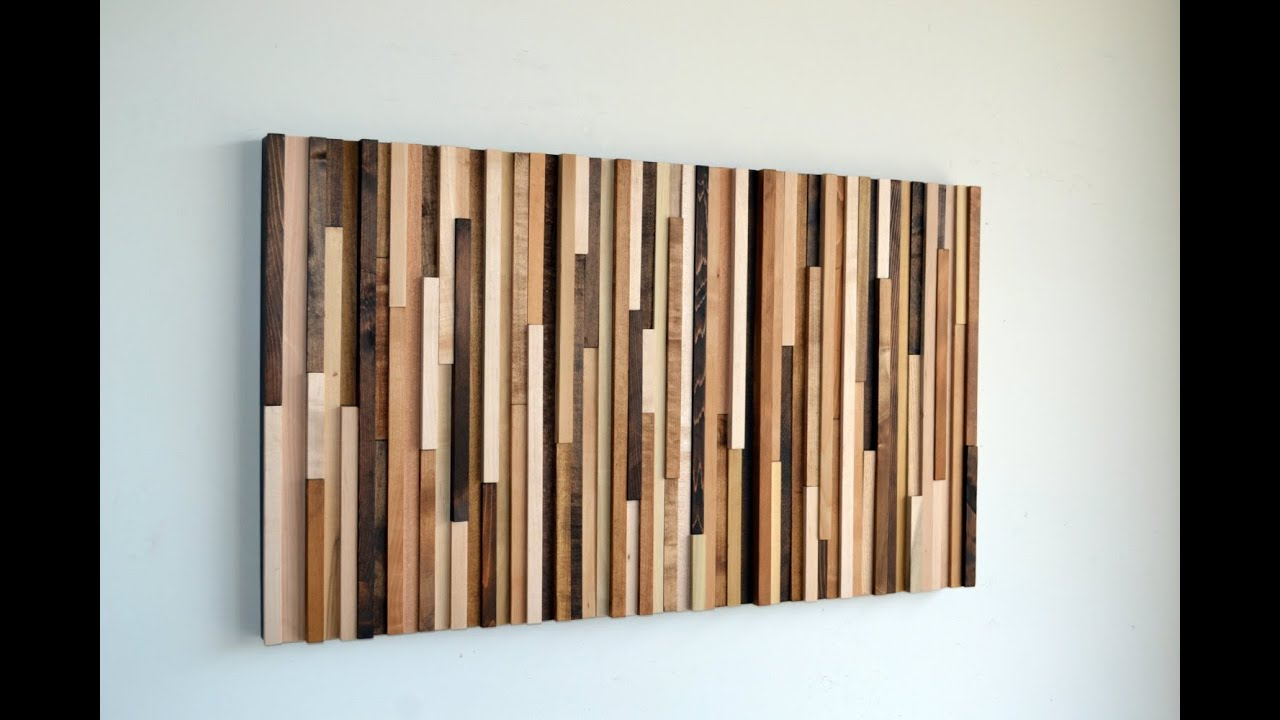 Wood wall art wood wall art youtube - Wood panel artwork ...