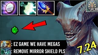EPIC MIRROR Void vs APEX PL and TRIDENT OD Crazy 30 LvL Megas Comeback Best Tier 5 Item 7.24 Dota 2