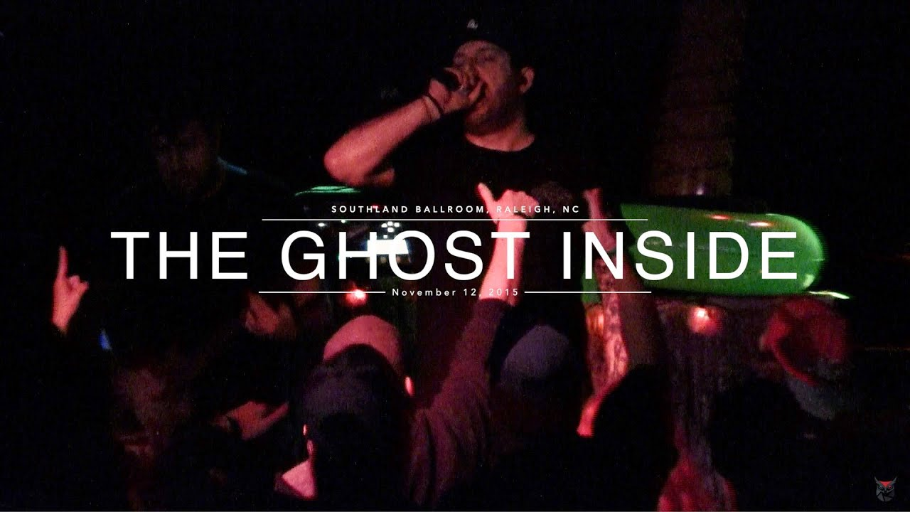 The Ghost Inside - FULL SET live in HD! - Raleigh, NC