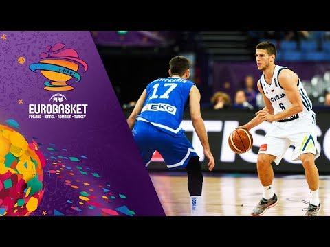 Slovenia v Greece - Full Game - FIBA EuroBasket 2017