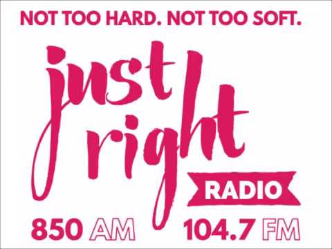 "QUICKIE: WPTK-AM 850 and FM 104.7 ""Just Right Radio"" legal ID (September 2015)"