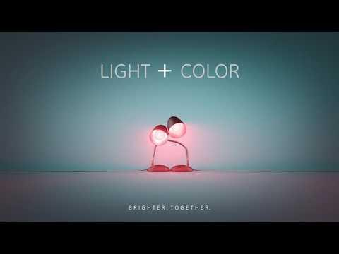 GE LED+ Brighter, Together -- Light + Color