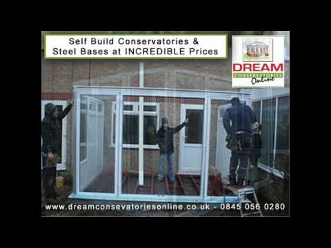 My Self Built or DIY Gable End Conservatory