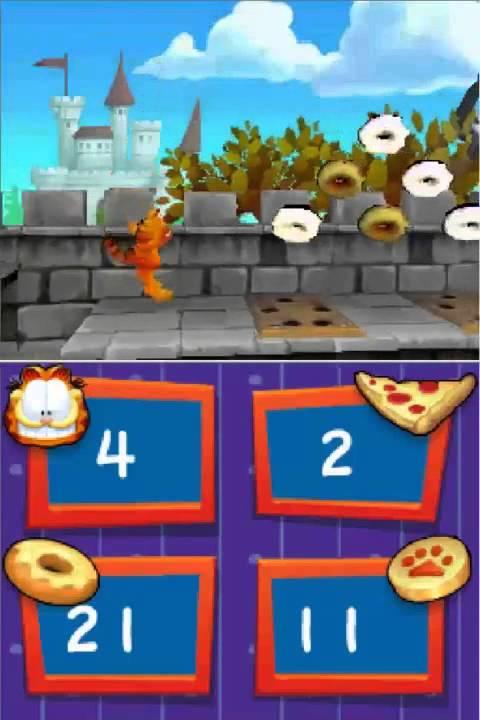 Garfield S Nightmare Nintendo Ds Youtube